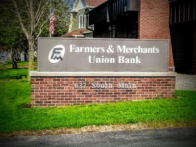 Farmers & Merchants Union Bank- Fall River, Wisconsin